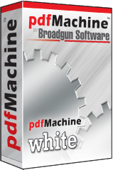 pdfmachine white